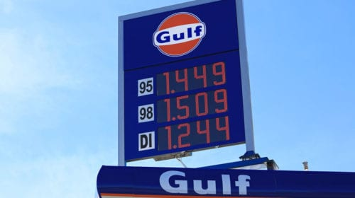 Gasoline price decline will help reverse recession