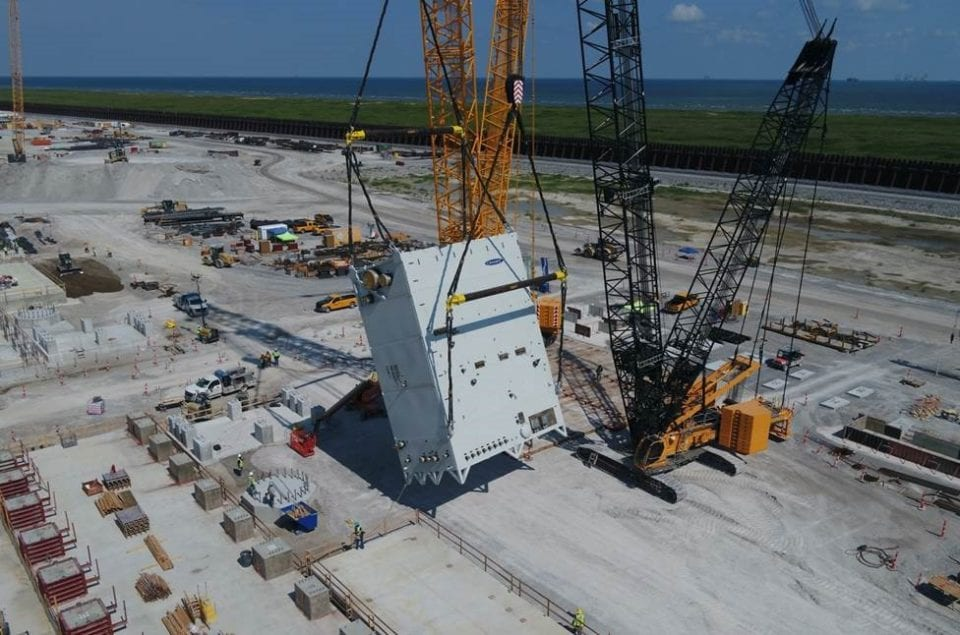 Venture Global Announces Arrival of First Liquefaction Equipment at Calcasieu Pass LNG Export Facility