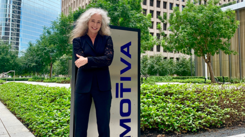 Keo Lukefahr at Motiva's Houston office. Photo courtesy Keo Lukefahr