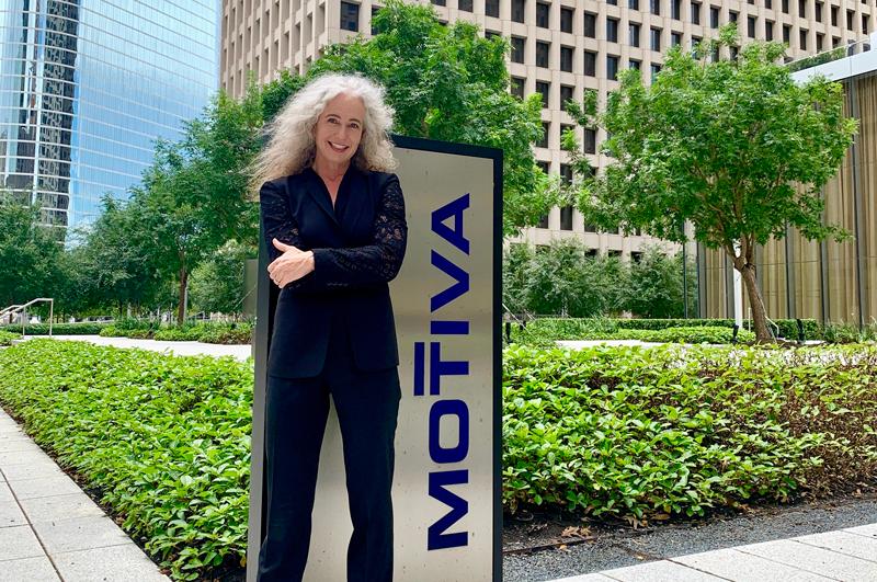 Keo Lukefahr at Motiva's Houston office. Photo courtesy Keo Lukefahr