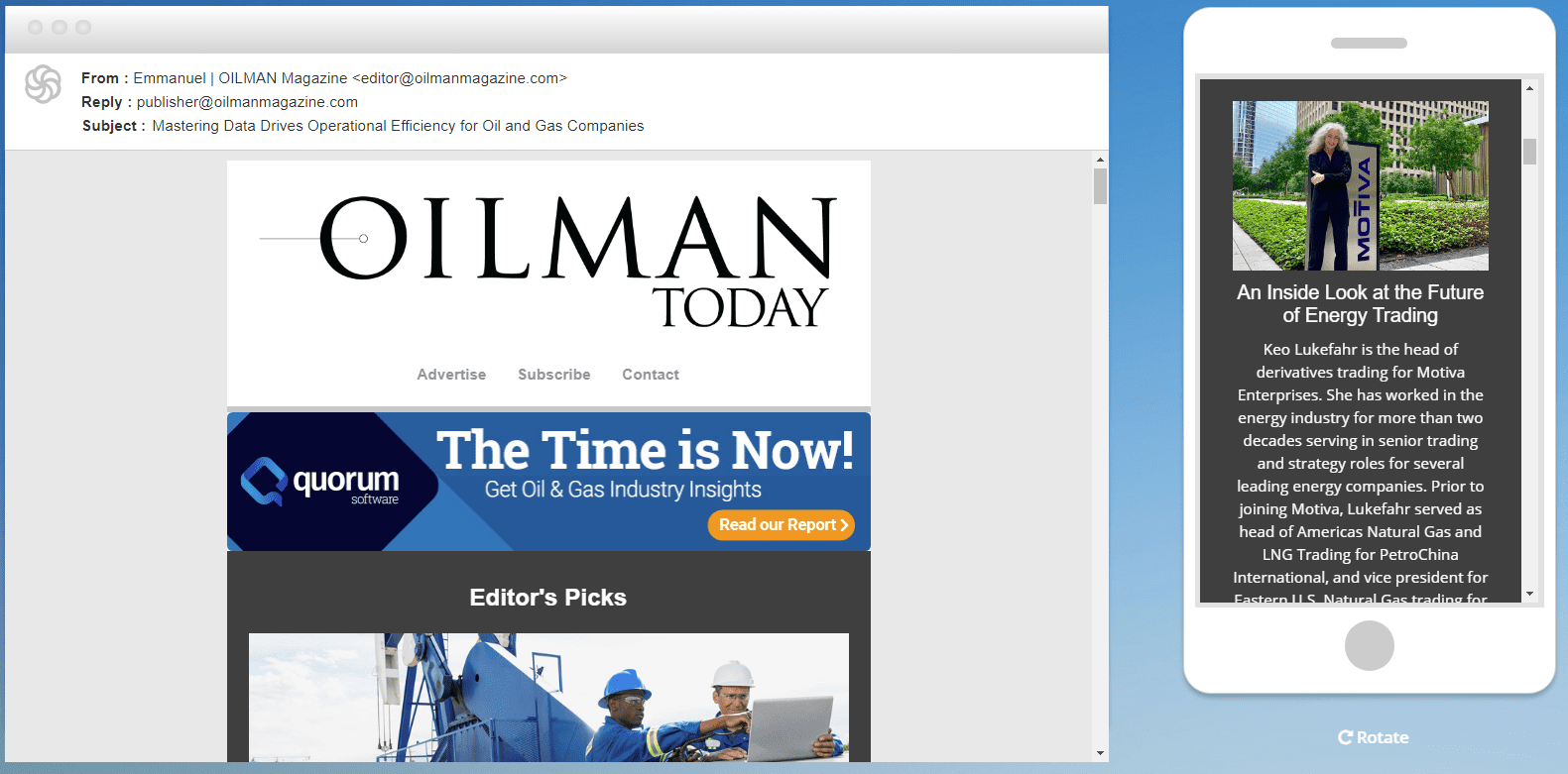 OILMAN Today