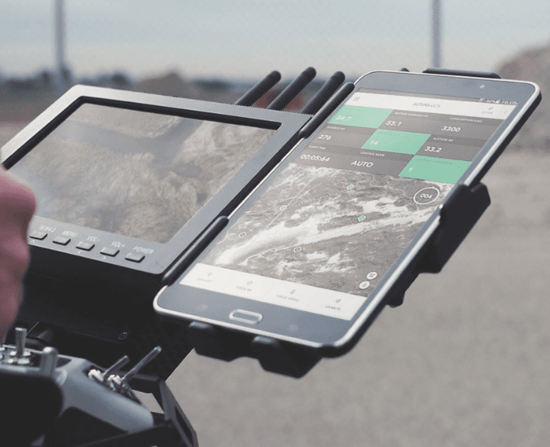 Command and control (C2) training includes Flight Control Software that guides drones from take-off to landing, notifies pilots of any potential obstacles and ensures safe, close formation flights.