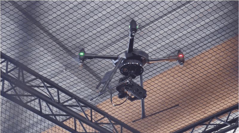 Aquiline Drones are subjected to rigorous and intense precision indoor training prior to being  released on a field mission.