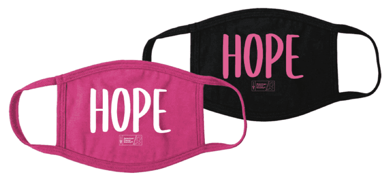 American Cancer Society (ACS) custom-designed masks are part of its initiative with KPMG.