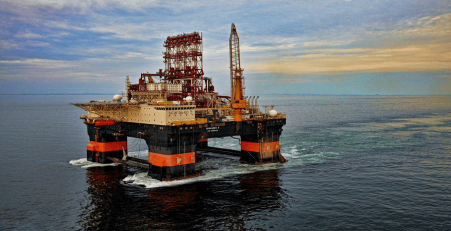 Drilling rig. Photo courtesy of Energy World