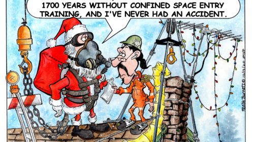 Santa Confined Space