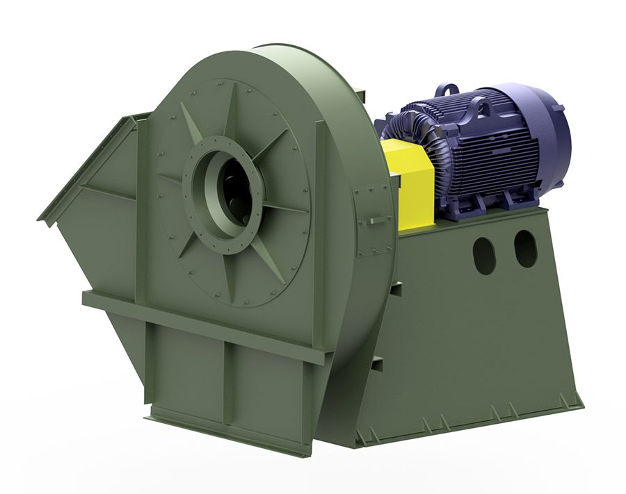 New York Blower Introduces High Efficiency BC-2200 Fan for High Flow, High Pressure Applications