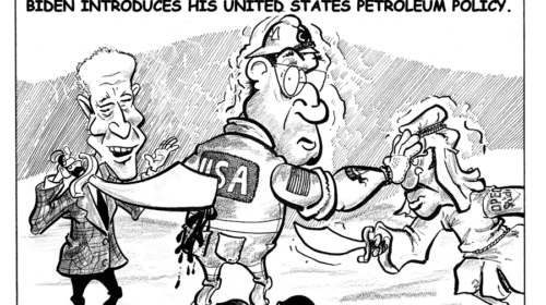 Oilman Cartoon March/April 2021