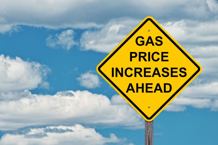 Gasoline prices rise as demand increases