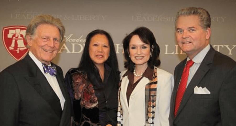 From L to R:Robert A. Hefner, III, MeiLi Hefner, Nancy and MarkStansberry.